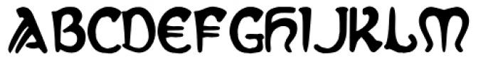 Slava Font UPPERCASE