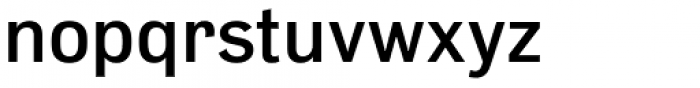Slavia Medium Font LOWERCASE