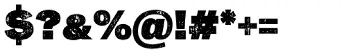 Slavia Press Fat Font OTHER CHARS