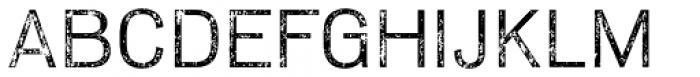 Slavia Repress Light Font UPPERCASE