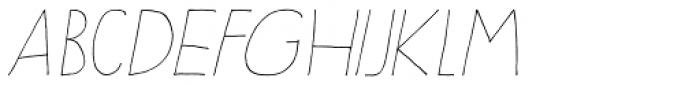 Sleepy Time Italic Font UPPERCASE