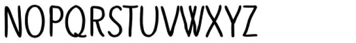 Slenderz Bold Font UPPERCASE