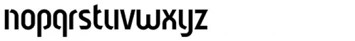 Sliced Open Regular Font LOWERCASE