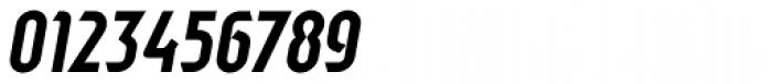 Sliced Tilted Font OTHER CHARS