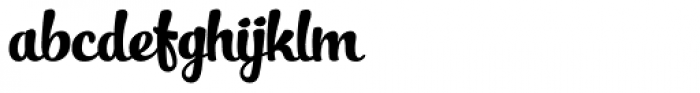 Slim Tony Font LOWERCASE