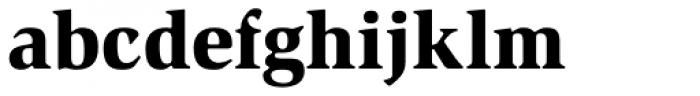 Slimbach Std Black Font LOWERCASE