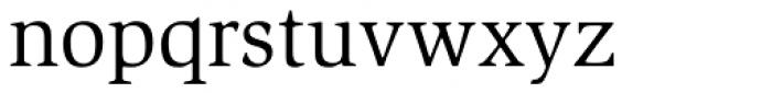 Slimbach Std Book Font LOWERCASE