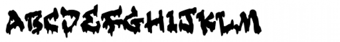 Slime Tag Font LOWERCASE