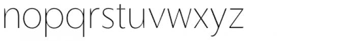 Slippy UltraLight Font LOWERCASE