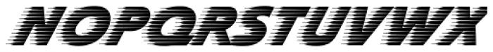 Slipstream Std Font UPPERCASE