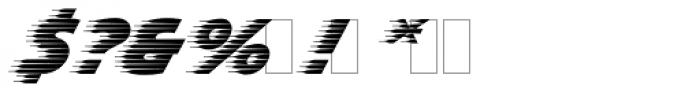 Slipstream Font OTHER CHARS