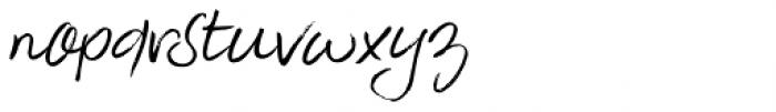 Slivowitz Italic Font LOWERCASE