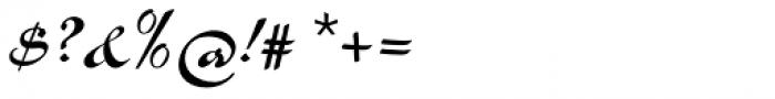 Slogan Pro Regular Font OTHER CHARS