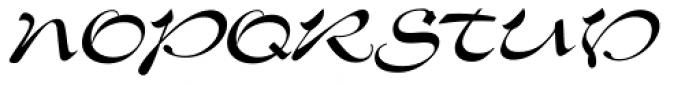 Slogan Pro Regular Font UPPERCASE