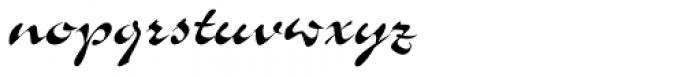 Slogan Pro Regular Font LOWERCASE