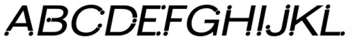 Slonk Bold Italic Font UPPERCASE