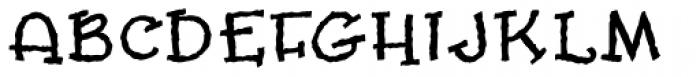 Slowmotion Girl Font UPPERCASE