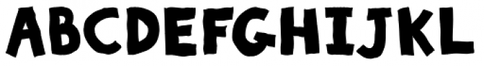 Sluggo Black Font UPPERCASE