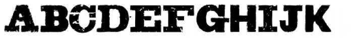 Sluicebox Font UPPERCASE