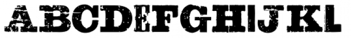 Sluicebox Font LOWERCASE