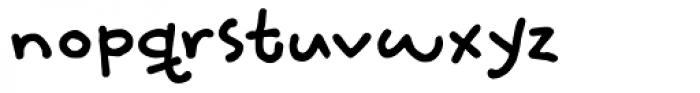 Slumberless Fat Font LOWERCASE