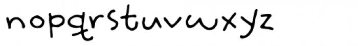 Slumberless Font LOWERCASE
