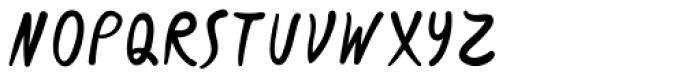 Slurm Regular Font UPPERCASE