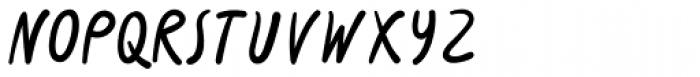 Slurm Regular Font LOWERCASE