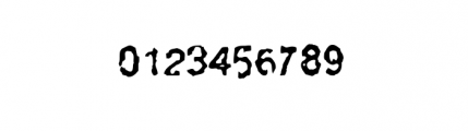 Slackhappy Regular Font OTHER CHARS