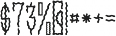 SMOKEY Regular otf (400) Font OTHER CHARS