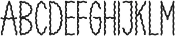 SMOKEY Regular otf (400) Font UPPERCASE