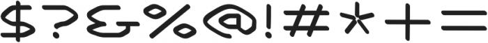 Smart regular otf (400) Font OTHER CHARS