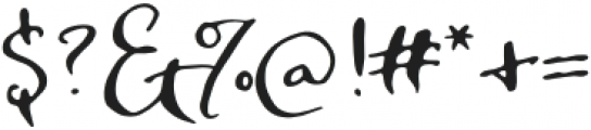 SmokeSignals otf (400) Font OTHER CHARS