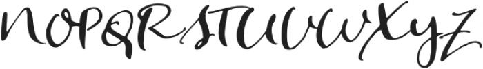 SmokeSignalsSlant otf (400) Font UPPERCASE