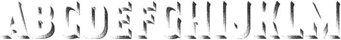 Smoking Typeface Shadow otf (400) Font LOWERCASE
