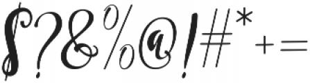 Smonthia Script Regular otf (400) Font OTHER CHARS