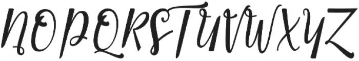 Smonthia Script Regular otf (400) Font UPPERCASE