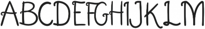Smoother otf (400) Font UPPERCASE
