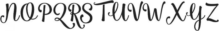 Smoothie Shoppe Regular otf (400) Font UPPERCASE