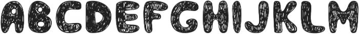 Smoothies otf (400) Font UPPERCASE