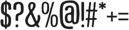 Smyrna Regular otf (400) Font OTHER CHARS