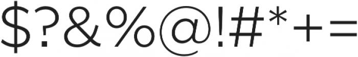 SmytheSans Light otf (300) Font OTHER CHARS