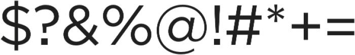 SmytheSans Regular otf (400) Font OTHER CHARS