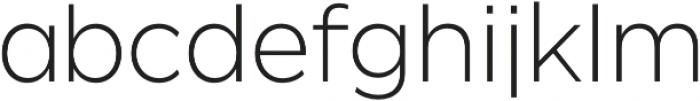 SmytheSans UltraLight otf (300) Font LOWERCASE
