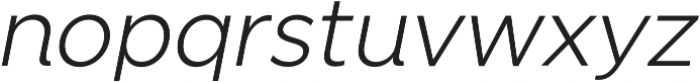 SmytheSansItalic Light otf (300) Font LOWERCASE