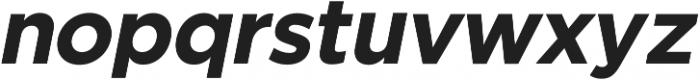 SmytheSansOblique Bold otf (700) Font LOWERCASE