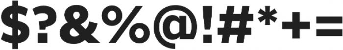 SmytheSansPro otf (700) Font OTHER CHARS