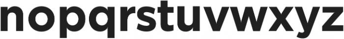 SmytheSansPro otf (700) Font LOWERCASE