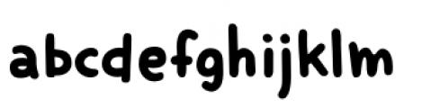 Smiling Cat Regular Font LOWERCASE