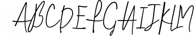 Smalltown handwritten font 1 Font UPPERCASE